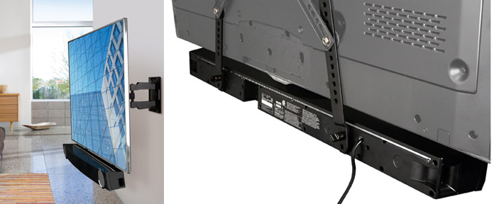 Sound Bars can save precious Space for your HDTV